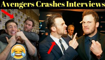 Avengers Cast Crashes Interview – Funny Moments Which You Have Never Seen Before – 2017