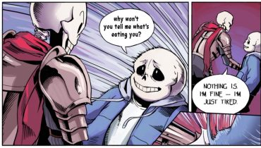 Funny Sans and FINAGLC – English Dub (Undertale Comic Dub)