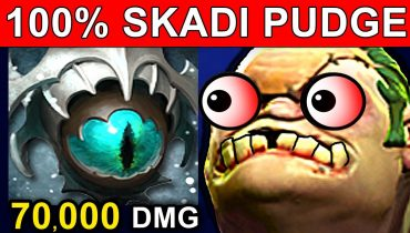 PUDGE SKADI – DOTA 2 PATCH 7.06 NEW META FUNNY GAMEPLAY