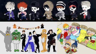 Funny Halloween With BTS Kpop [VGK]
