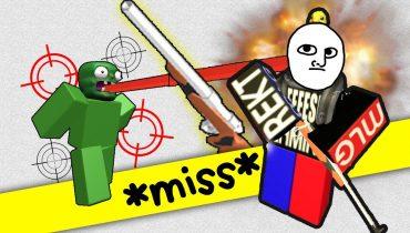 R2DA   Funny Moments 2 – My Bad Aim and NEW GUN!