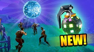 HUNTING FOR BOOGIE BOMBS! *NEW DANCE GRENADE!* | Fortnite Battle Royale Funny Moments