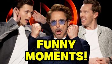 AVENGERS INFINITY WAR Funny Cast Interviews – Roasting Goats, Bloopers & Behind The Scenes Moments