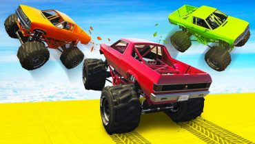 CRAZY MONSTER TRUCK RKO! – GTA 5 Funny Moments