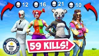 59 KILLS BY 1 SQUAD! *NEW WORLD RECORD* – Fortnite Funny Fails and WTF Moments! #334