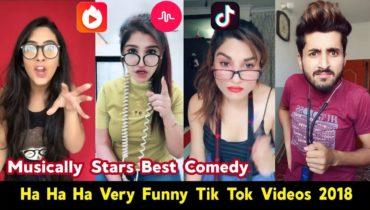 Janu Mein Kesi Lag Rahi Ho? New Viral Very Funny Tik Tok Musically Videos Compilation | #FunnyTiktok