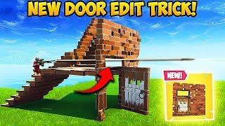 *NEW EDIT TRICK* Shoot Through Doors with Stairs! – Fortnite Funny Fails! #392
