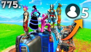 ONLY 5 PLAYER GAME!! – Fortnite Funny WTF Fails and Daily Best Moments Ep. 775