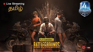 PUBG Mobile Tamil funny game play with Advanced room card,  shout-casting !! Road to 4K Subs