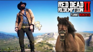 RED DEAD REDEMPTION 2 Funny Moments #1 (Random Fails Compilation)
