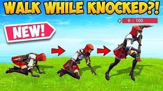 WALK WHILE KNOCKED! – Fortnite Funny Fails! #394