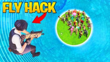 Cheater Used FLY-HACK In Fortnite Tournament GONE WRONG ..! Fortnite Funny Fails & Wins #217