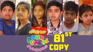 Fun Bucket JUNIORS | HAPPY NEW YEAR 2019 | Episode 81 | Kids Funny Videos | By Sai Teja – TeluguOne
