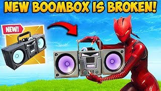 *NEW* BOOMBOX IS SUPER OP! – Fortnite Funny Fails and WTF Moments! #427