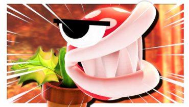 Piranha Plant but some funny stuff happens