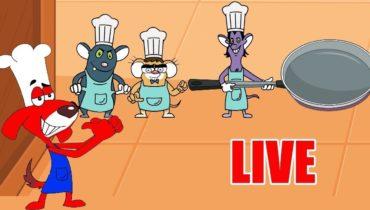 Rat-A-Tat |'LIVE – Top Chef Cooking Compilation Cartoon Episode'| Chotoonz Kids Funny Cartoon Videos