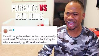 Funny Tweets about Parenting BAD KIDS | Alonzo Lerone