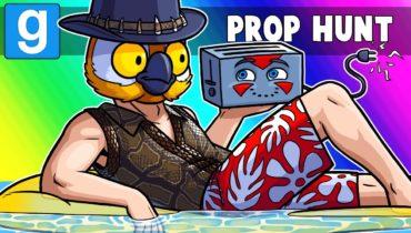 Gmod Prop Hunt Funny Moments – Spring Pool Safety!! (Prop Hunt)