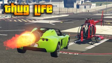GTA 5 ONLINE : THUG LIFE AND FUNNY MOMENTS (WINS, STUNTS AND FAILS #106)