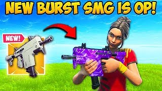 *NEW* BURST SMG IS VERY OP!! – Fortnite Funny Fails and WTF Moments! #572