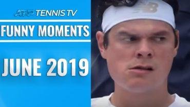 Funniest Moments & Fails from June | 2019 ATP Tennis Season