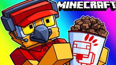 Minecraft Funny Moments – We Have a Chick-Fil-A Now! (Featuring Stairs)