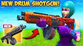 *NEW* DRUM SHOTGUN IS SUPER OP!! – Fortnite Funny Fails and WTF Moments! #606