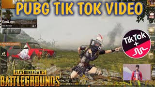 PUBG TIK TOK FUNNY MOMENTS AND FUNNY DANCE (PART 38) || BY PUBG TIK TOK