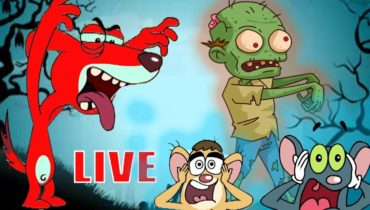 Rat-A-Tat |'LIVE SCARY CARTOONS for Kids Doggy Vs Zombies Video'| Chotoonz Kids Funny Cartoon Videos
