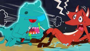 SLIME Monster | Eena Meena Deeka | Funny Cartoons for Kids | Hooplakidz Shows