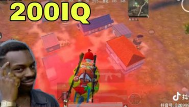 200 IQ and – 200 IQ   pubg Mobile funny and WTF moments # 117