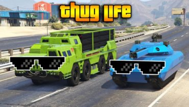 GTA 5 ONLINE : THUG LIFE AND FUNNY MOMENTS (WINS, STUNTS AND FAILS #132)