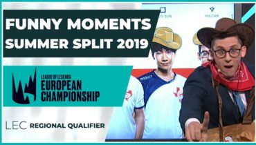 Funny Moments – LEC Regional Qualifier – Summer Split 2019