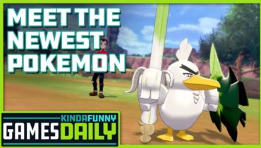 Meet the Newest Pokemon – Kinda Funny Games Daily 09.18.19
